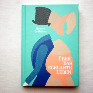Balzac Ueber das elegante Leben Cover