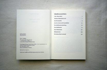Inhaltsverzeichnis Stoff und Faden Materiallexikon